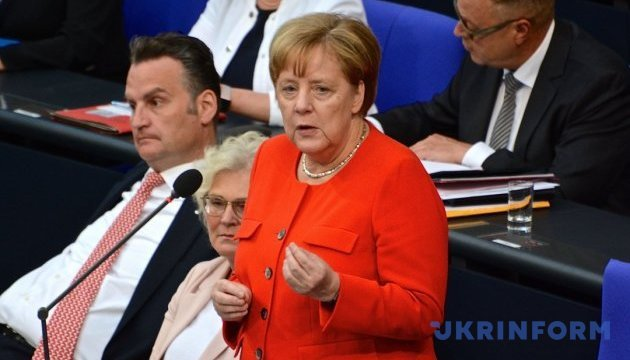 Merkel sees no reason to return Russia to G8