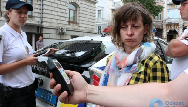 П'яна жінка на Jaguar розбила в Одесі відразу п'ять авто