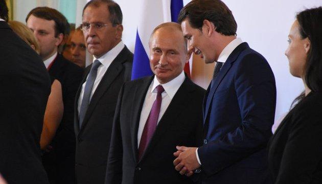 Віденський вальс Путіна