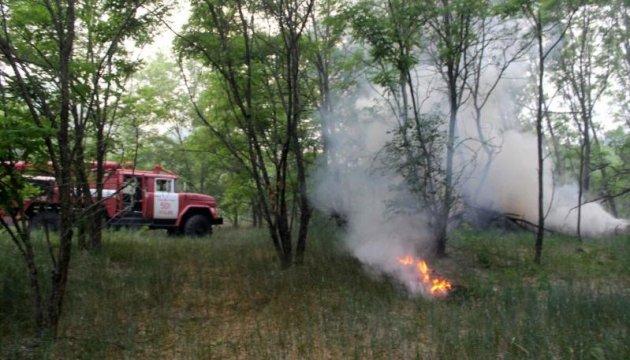 У п'яти областях все ще утримується надзвичайна пожежна небезпека