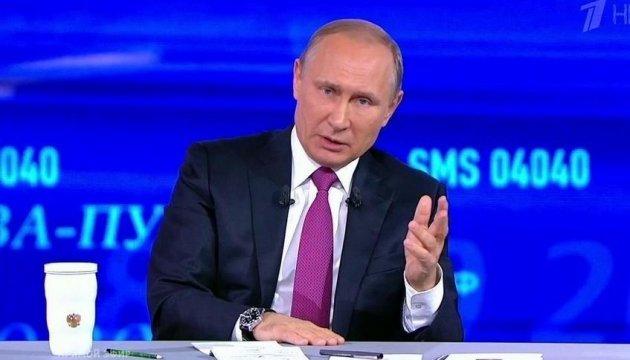 Не під зовнішнім тиском – Путін