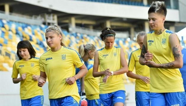 Женская сборная Украины по футболу испытала