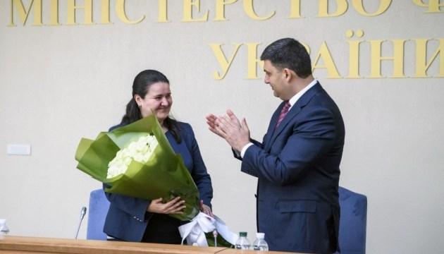 Назначение Маркаровой будет способствовать кооперации Рады и Минфина - Гройсман