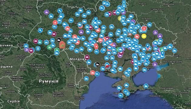Технічні пам'ятники України нанесли на інтерактивну мапу