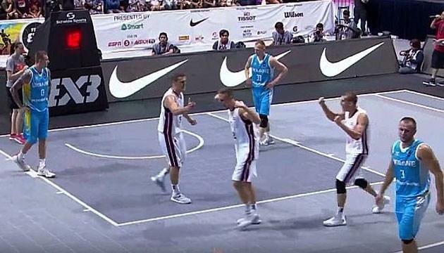 Баскетбол 3х3: Україна поступилася Латвії в другому матчі чемпіонату світу