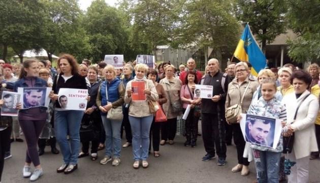 Українці з Мадрида вимагають звільнити українських політв'язнів, утримуваних в РФ