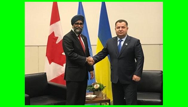 Harjit Sajjan: Ukraine and Canada are close defence allies