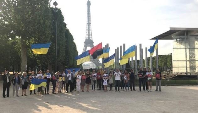 Une manifestation de soutien à Roman Souchtchenko a eu lieu à Paris (photos, vidéos)