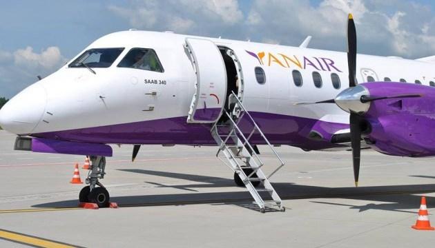 Yanair відкрила регулярні рейси Львів-Батумі