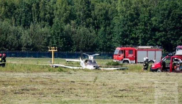 В Польше разбился легкомоторный самолет с Украины, есть пострадавшие