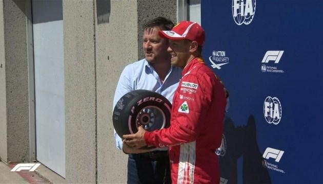 Формула-1: Феттель виграв кваліфікацію Гран-прі Канади