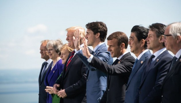 G7 vows to continue supporting Ukraine's sovereignty - communique