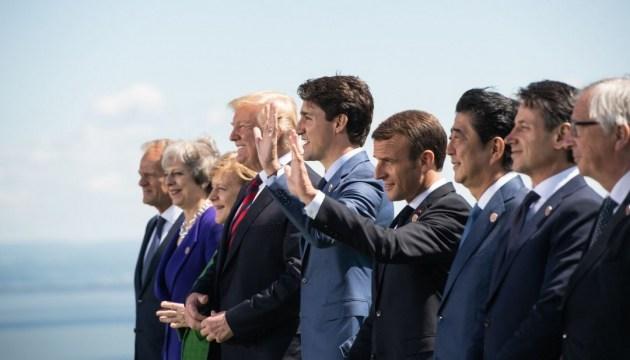 Communiqué commun du Sommet du G7 de Charlevoix