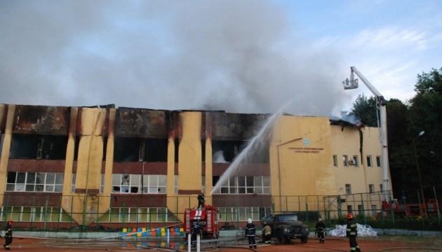Ігор Жданов підозрює, що спортивну базу у Львові навмисно підпалили