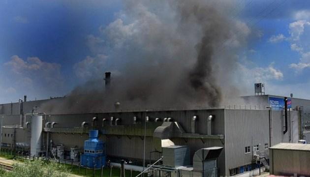 У Німеччині загорівся завод BMW