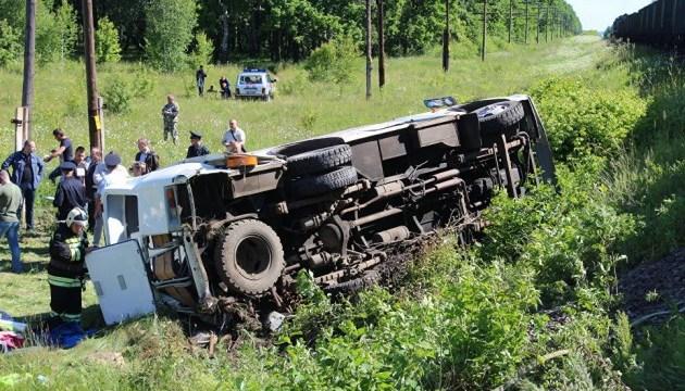 В России автобус столкнулся с грузовым поездом: четверо погибших