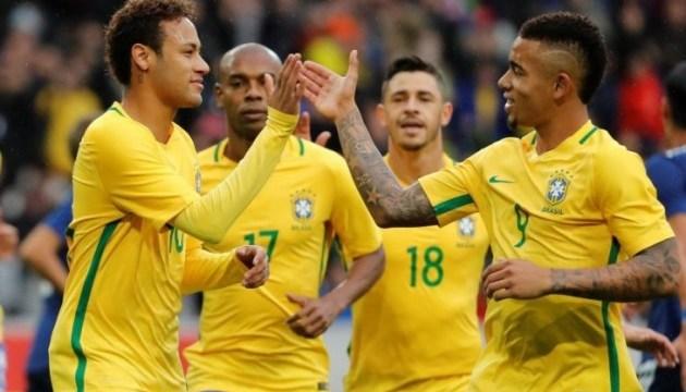 Бразильці розгромили австрійців перед чемпіонатом світу з футболу