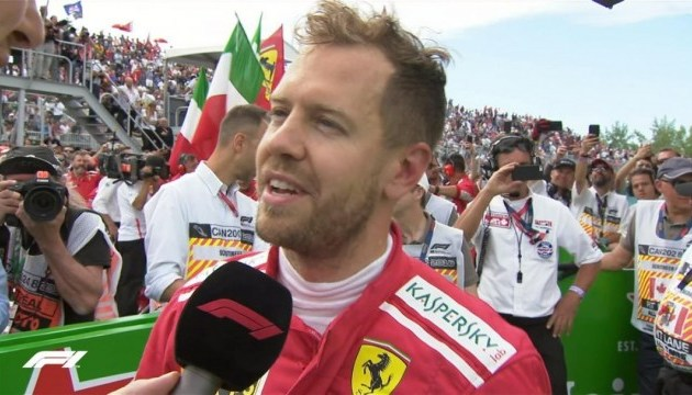 Формула-1:  Феттель виграв Гран-прі Канади і став новим лідером сезону