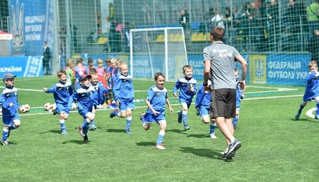 Німецька компанія GIZ запускає в Україні футбольний проект