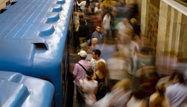 Almost 29 mln Kyiv subway trips paid with contactless cards in past three years