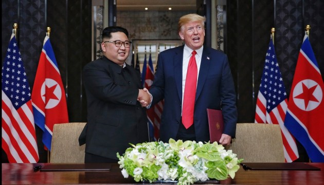 Трамп и Ким Чен Ын вошли в список кандидатов на Нобелевскую премию мира