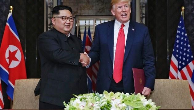 У Держдепі розповіли про підготовку нової зустрічі Трампа з Кім Чен Ином
