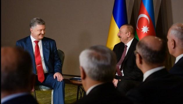 Алиев пригласил Украину к участию в проекте Южного газового коридора