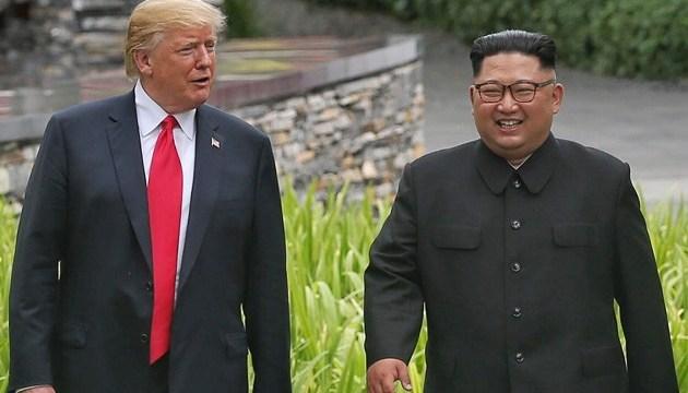Кім Чен Ин хоче вдруге зустрітися з Трампом