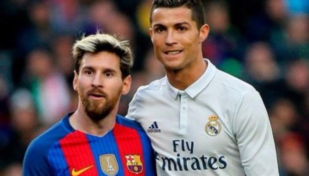Мессі випередив Роналду в списку найбільш високооплачуваних футболістів - Forbes
