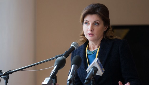 Issue of political prisoners raised at all high-level meetings - Maryna Poroshenko