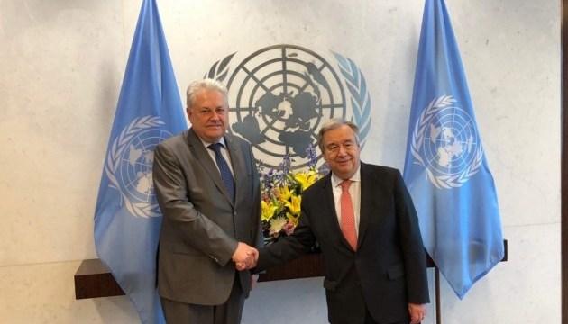 Украина и еще 37 стран призвали генсека ООН содействовать освобождению Сенцова