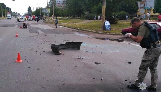 У Черкасах вибухнув Mercedes, водій загинув