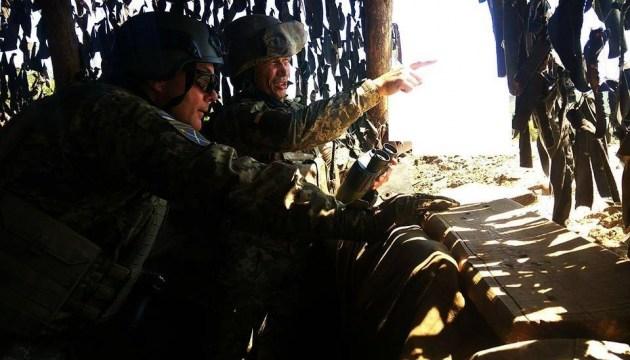 ООС: противник уменьшил провокации против украинских подразделений