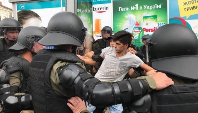 """Полиция отпустила большинство задержанных во время """"КиевПрайда"""""""