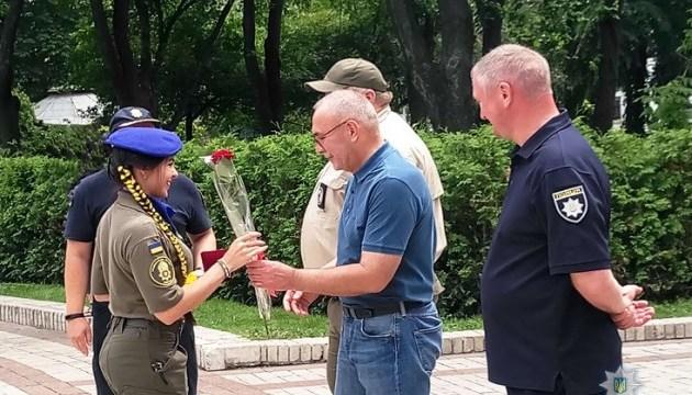 Нацгвардейцев наградили за охрану порядка во время финала ЛЧ в Киеве
