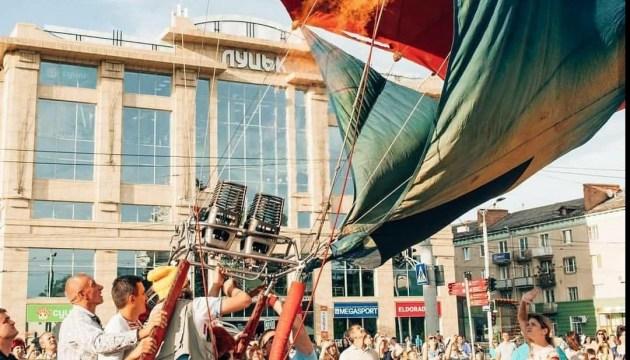 В Луцке проходит карнавал воздушных шаров