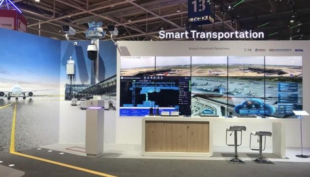 Huawei представила решение Smart Airport 2.0 на выставке CEBIT 2018