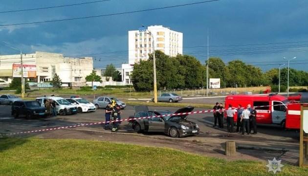 Вибух авто у Черкасах: поліція розповіла подробиці