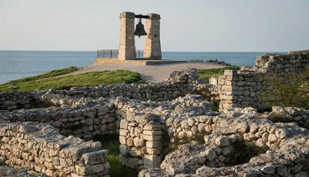 En Crimée, les autorités d'occupation russes pourraient détruire le monument de Chersonèse
