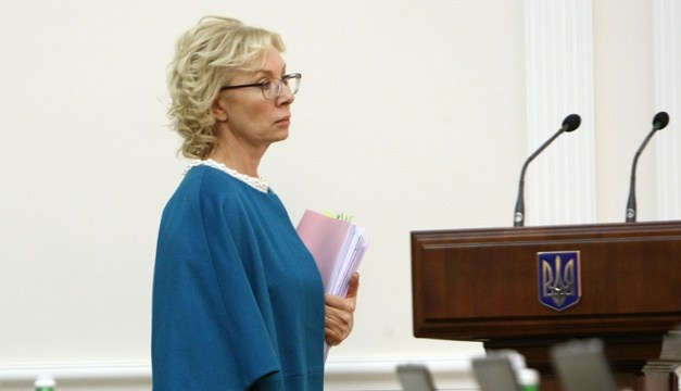 Denisova appeals to Russian ombudsman over respect for Hryb's, Klykh's rights