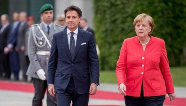 Німеччина та Італія знайшли спільну мову у питанні біженців