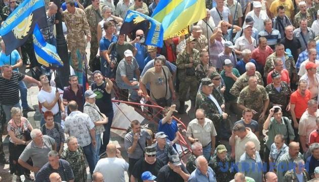 В Раде призывают депутатов выйти к протестующим