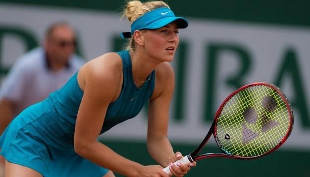 Костюк програла Шафаржовій на тенісному турнірі в Іспанії