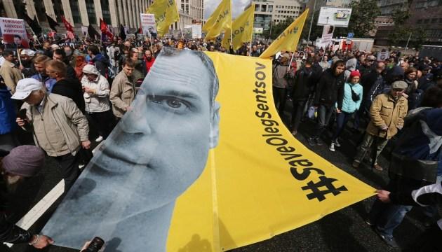 Más de 77 mil personas firmaron la petición en apoyo de Sentsov