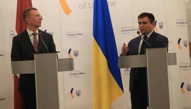 Trade turnover between Ukraine and Latvia grew by 37% in first quarter of this year - Klimkin