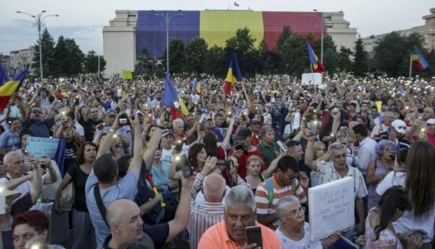 У Румунії поновилися протести проти правлячої коаліції