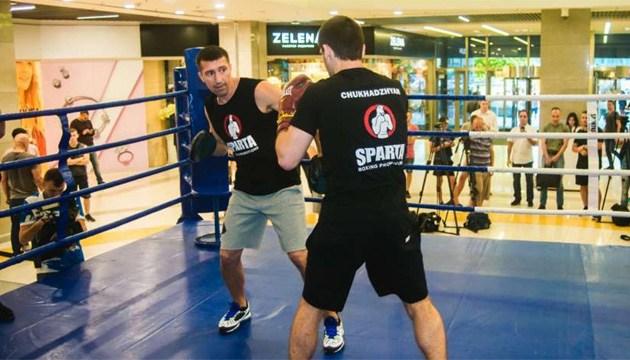 Бокс: Беринчик, Скороход и Чухаджян провели открытую тренировку