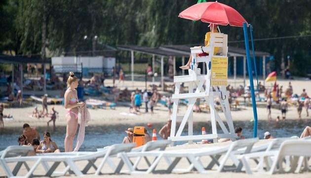 Купальний сезон 2018: безпечні пляжі Києва. Інфографіка