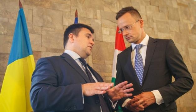 Мовне питання: Клімкін розповів, про що домовились з угорським міністром