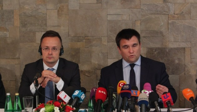Klimkin pleased with consultations with Hungary regarding law on education